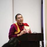 Онлайн-лекция ректора Буддийского университета