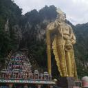 Индуистский храм в пещере в Куала-Лумпуре.