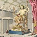 Статуя Зевса в Олимпии — единственное из Семи чудес света, которое располагалось в материковой части Европы (в городе Олимпия). Статуя Зевса в Олимпии — третье чудо света Древнего мира. Была воздвигнута в V веке до нашей эры.
